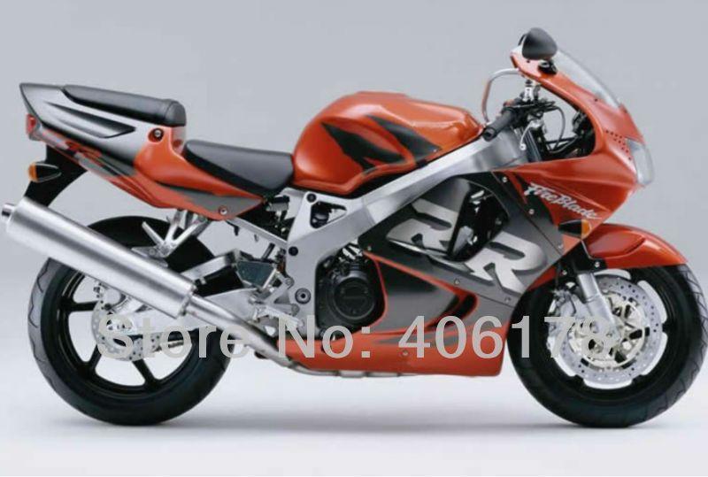 Hot Sales,Sportbike Fairing set kits For Honda CBR900RR 98 99 919 cbr rr 900 1998 1999 Orange and Black Motorcycle Fairings