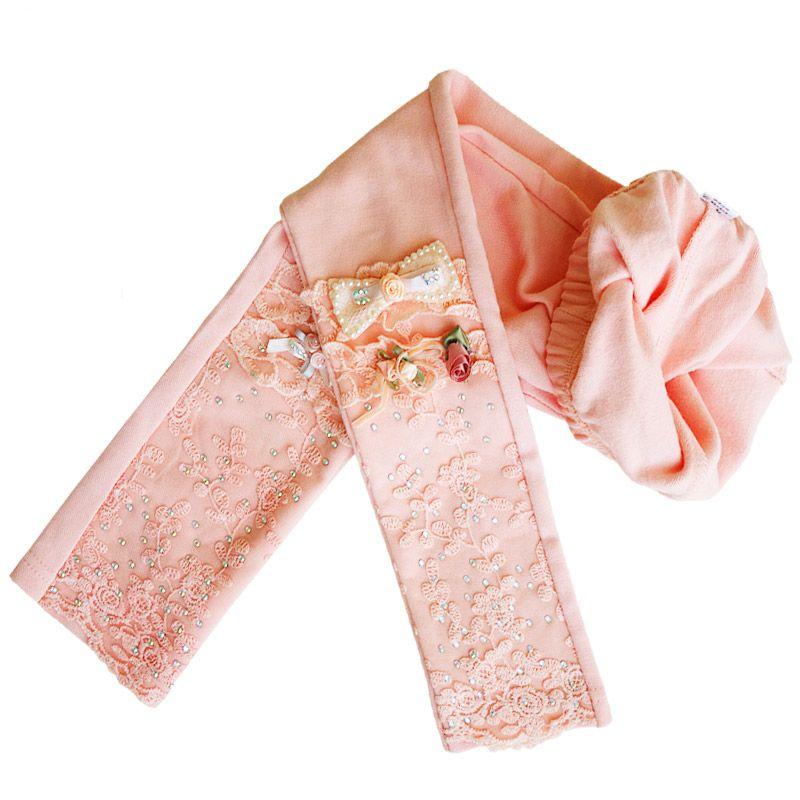 Printemps automne Leggings pour filles 2017 coton brillant bébé enfants pantalon princesse haut élastique pantalon pour enfants 3-12 ans