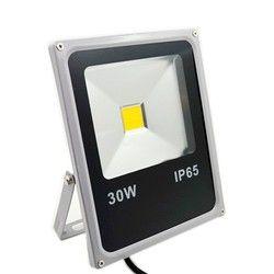 Ultra delgada Led Flood Light 10 W 20 W 30 W 50 W IP65 al aire libre de la lámpara del Reflector 100 W 220 V llevó el proyector Exterior de la luz del jardín