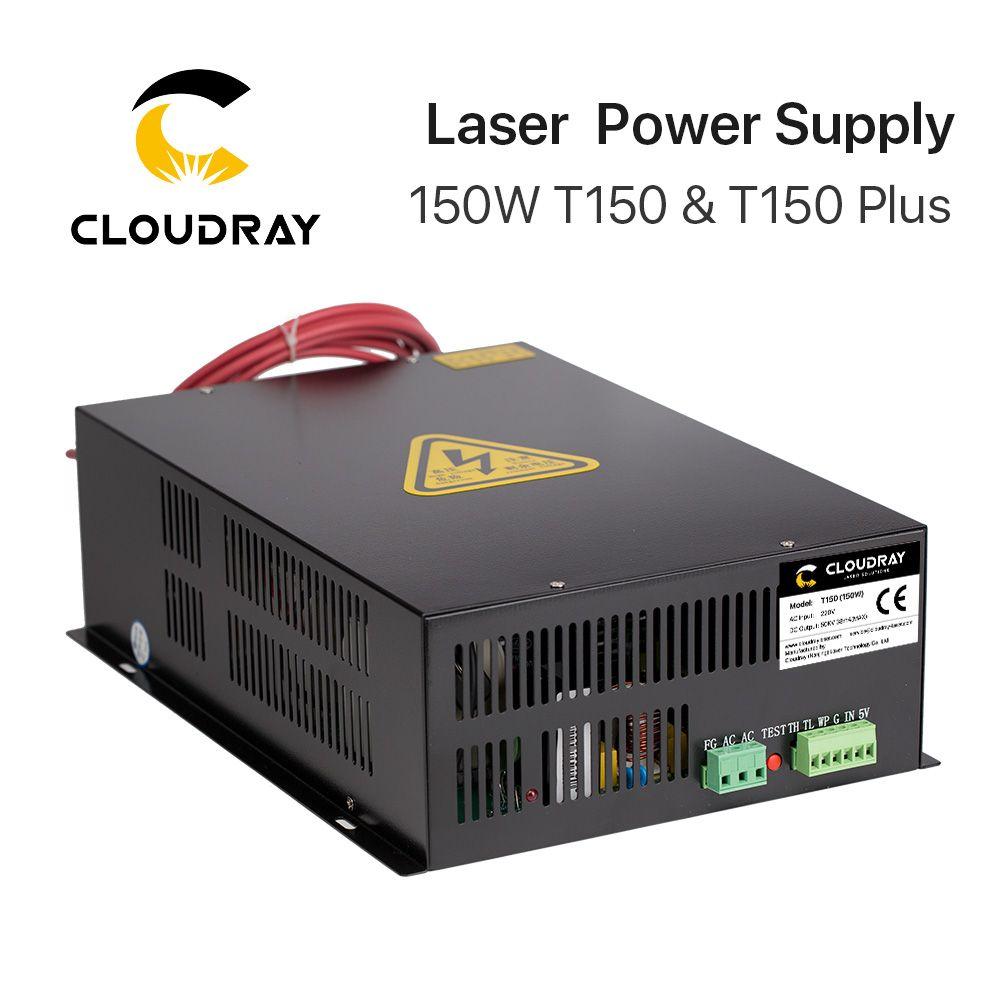 Cloudray 150 watt CO2 Laser Netzteil für CO2 Laser Gravur Schneiden Maschine HY-T150 T/W Plus Serie mit lange Garantie