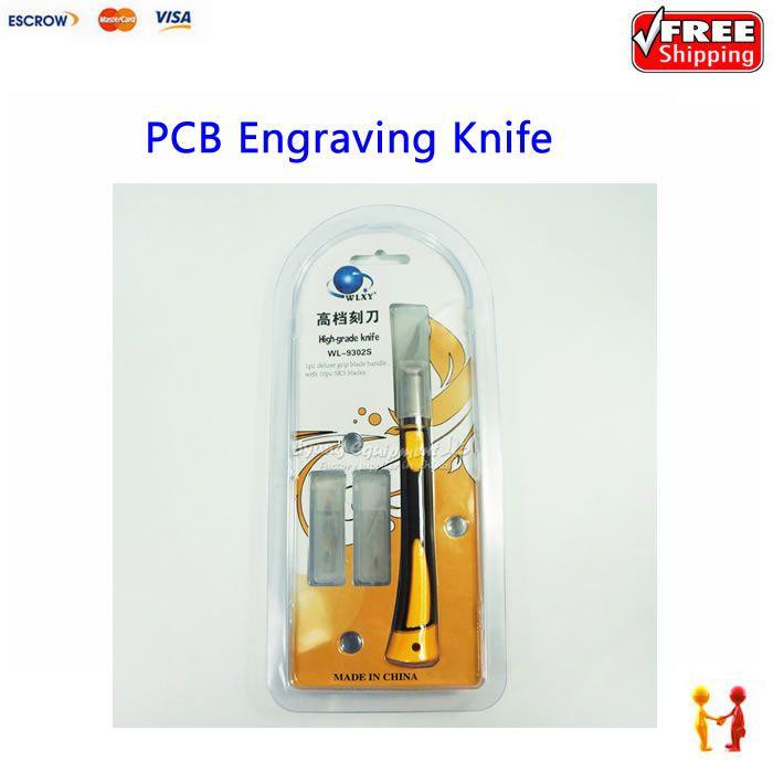 Высокая Класс Вырезка древесины печатной платы Гравировальный Ножи DIY инструмента wl-9302s