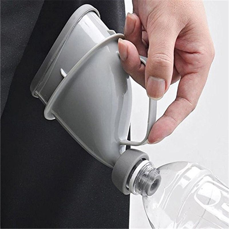 Outdoor Car Travel Portable Adult Urinal Unisex Potty Pee Funnel Embudo Orina Peeing Standing Man Woman Toilet Portable Urinal