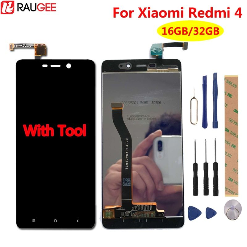 For Xiaomi Redmi 4 Pro LCD Display+Touch Screen Test Well New Digitizer Screen Glass Panel For Xiaomi Redmi 4 Pro Prime Redmi 4
