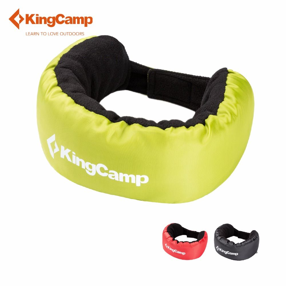 KingCamp U-oreiller 3 EN 1 Cou Oreiller Écharpe Couverture reste train couverture camping en plein air lumière poids U-oreiller
