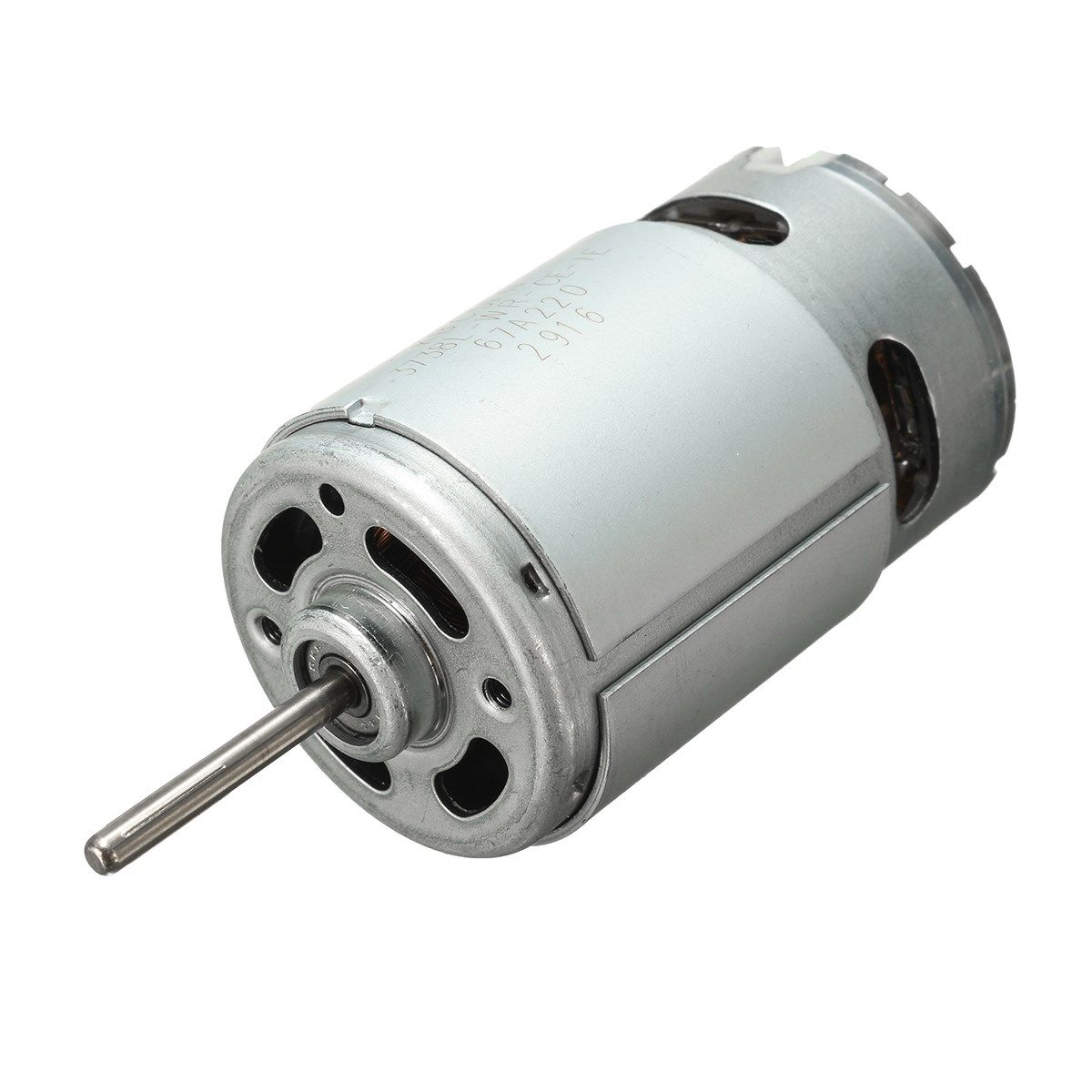 1PCS DC12-24V 555 Ball Bearing Electric Motor 2900RPM Large High Torque Strength and Wear Resistance