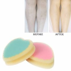 2018 New Magic Painless Hair Removal Depilation Sponge Pad Remove Hair Remover Effective