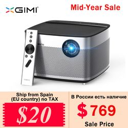 XGIMI H1 Projecteur DLP 1080 P 900 Ansi Full HD 3D Soutien 4 K Projecteur Android Bluetooth Airplay Home Cinéma Beamer Proyector