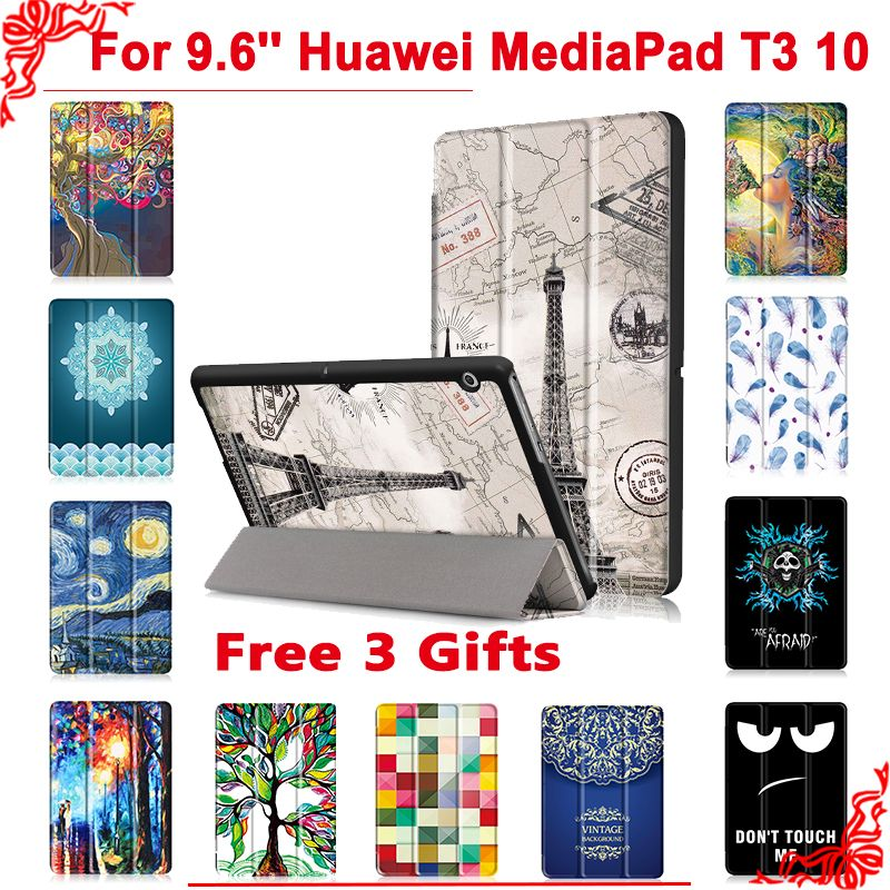 Cover case For Huawei MediaPad T3 10 AGS-L09 AGS-L03 9.6