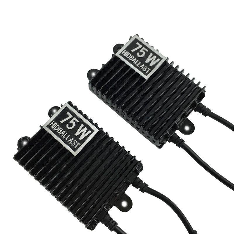 1 pcs 75W HID Xenon Ballast Digital Electronic Ballast Blocks for Xenon Headlight Lamp H1 H3 H4 H7 9005 HB4 9006