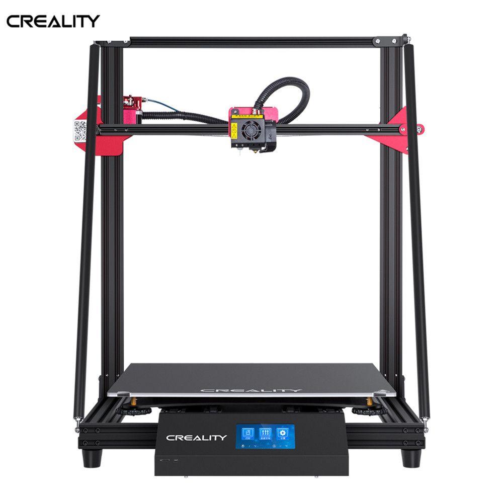 CREALITY 3D Große Größe CR-10 MAX 450*450*470mm Auto nivellierung Lebenslauf Print Filament Erkennung Mit 4.3inchTouch -bildschirm