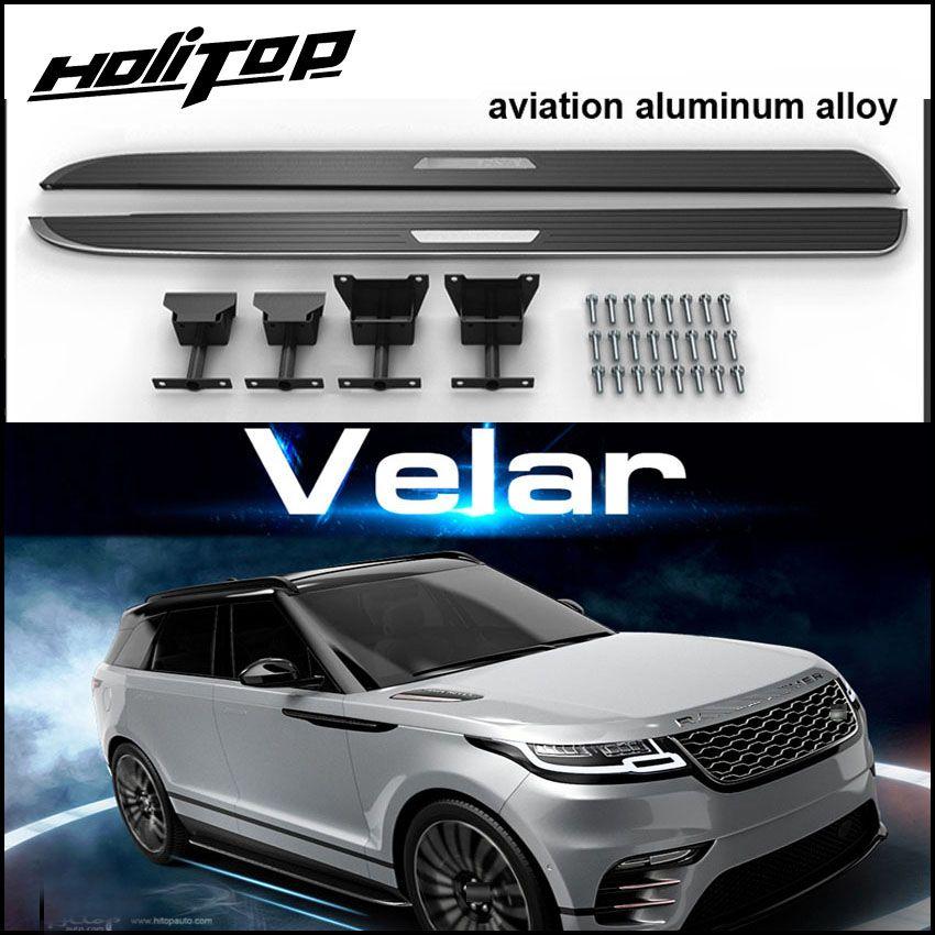 Auto nerf bar fuß pedale fuß bord seite schritt für Range Rover Velar 2017 2018. zuverlässige qualität von top fabrik, hatte hohe kommentar