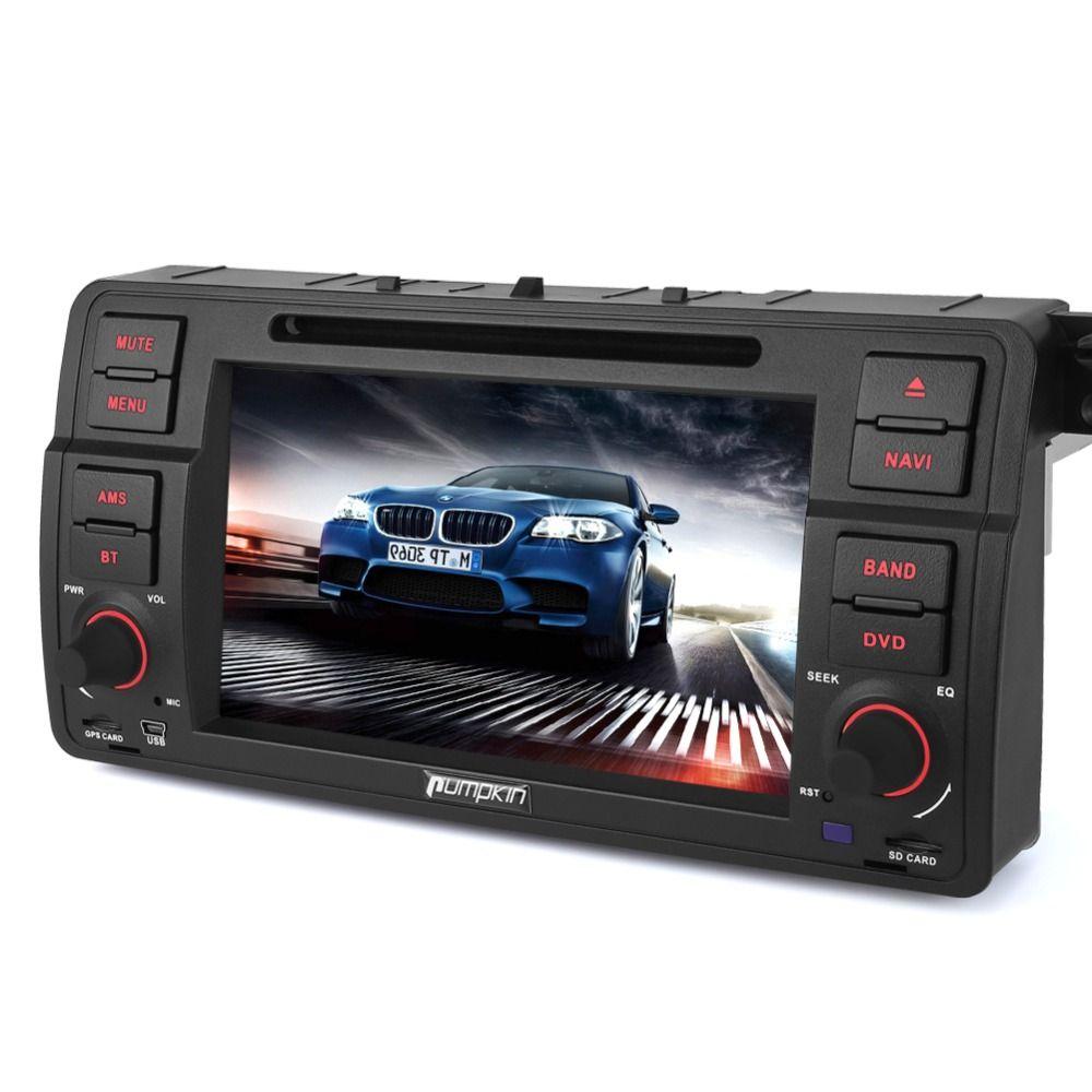 Pumpkin 2 Din 7''Android 6.0 Car DVD Player For BMW E46 Quad-core GPS Navigation Car stereo Bluetooth Wifi FM Rds Radio Headunit