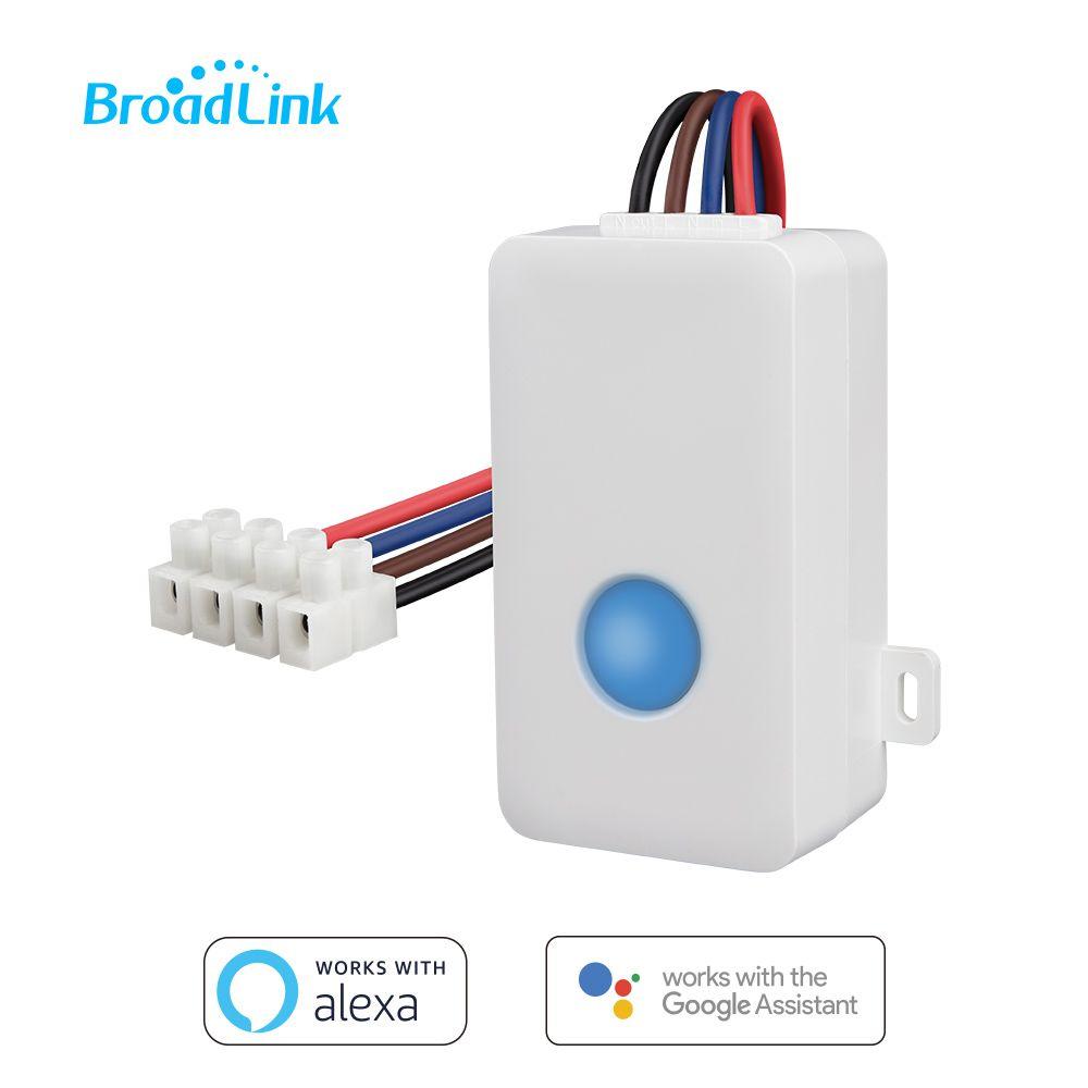 Broadlink SC1 WIFI Smart Switch Télécommande Minuterie Sans Fil Relais Compatible Alexa Google Assistant par Android IOS APP Contrôle