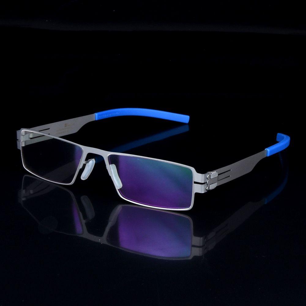 Monture De lunettes Ultra-mince et légère hommes myopie montures De lunettes allemagne marque Oculos De Grau avec étui d'origine