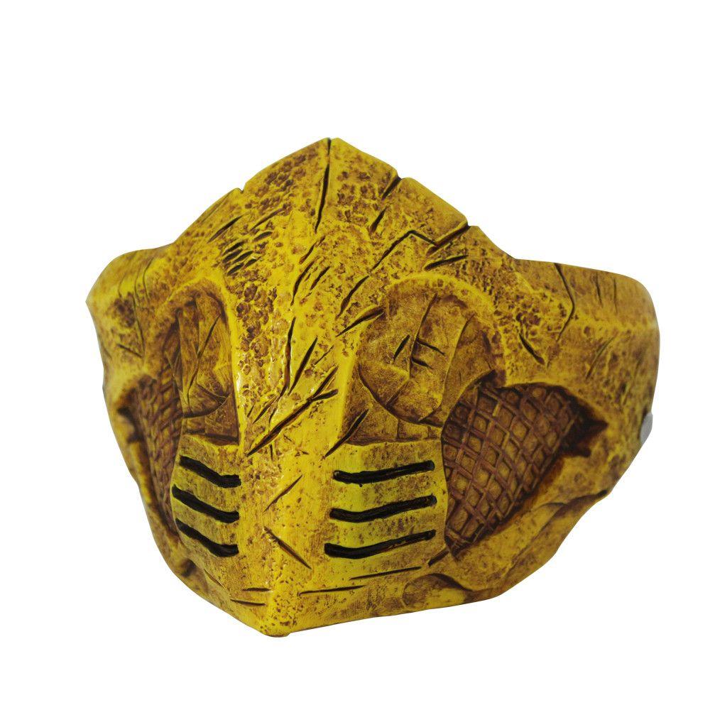 Masque mortel Kombat X masque Cosplay Scorpion masque de fête d'halloween