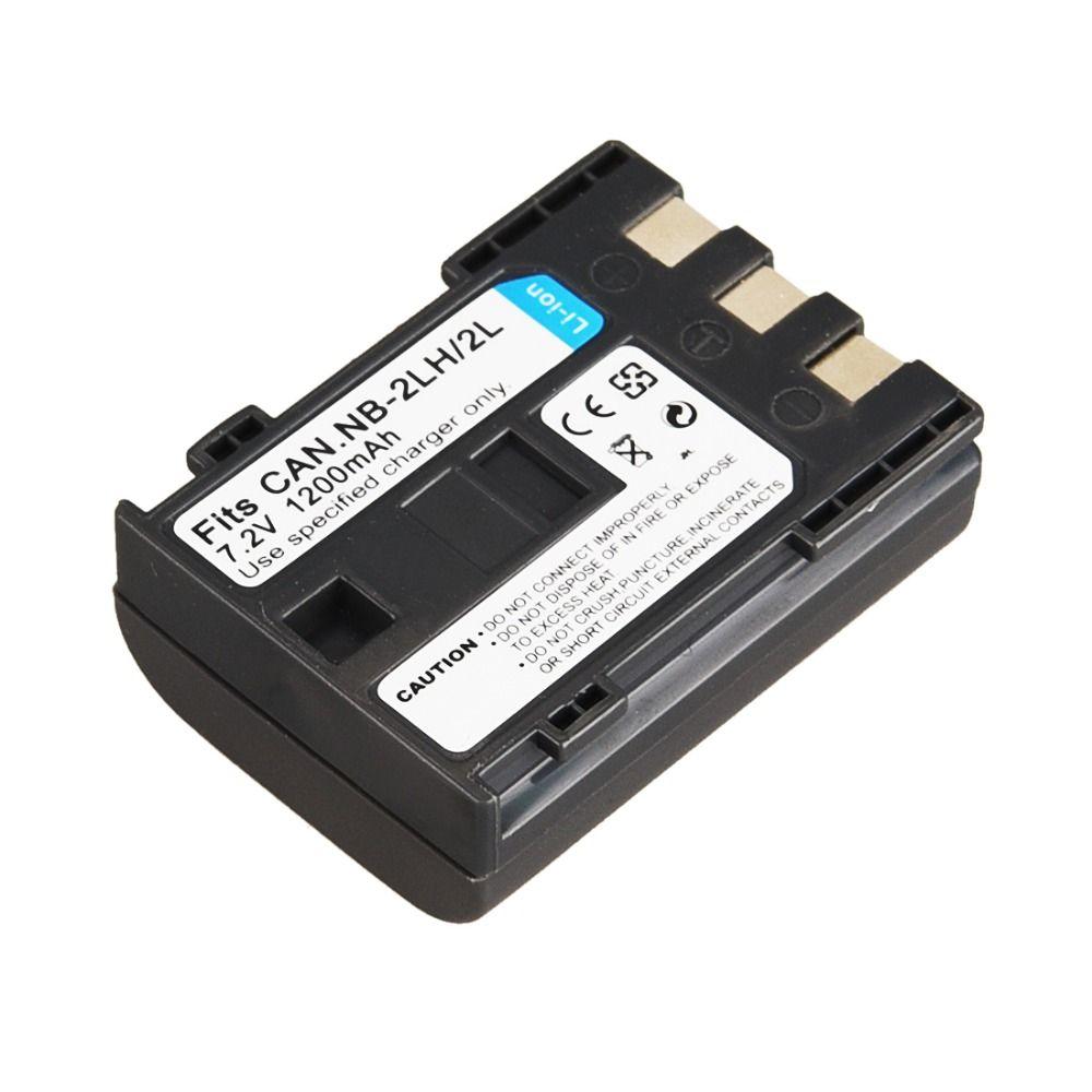 1 PC NB-2L NB 2L NB2L NB-2LH 1200 mAh Batterie Li-ion Rechargeable Pour Canon PowerShot S30 S50 S60 S80 EOS 350D MV940 MV901 Batterie
