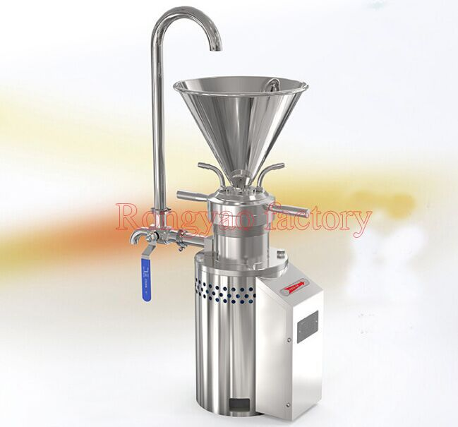RY-JML-65 Food grade colloid mill stainless steel grinder chemical industry, food, dairy products, cosmetics, paint, laboratory