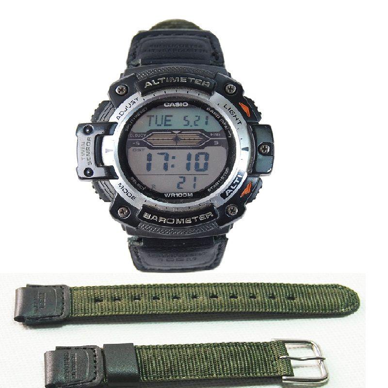 Uhr strap für casio SGW-300H 400H 500H MRW-200H AE-1000W AE-1300 AE-1200 W-S200H W-800H W-216H W-735H F-108WH W-215 AEQ-110W