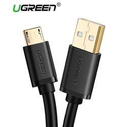 Ugreen Micro USB Câble 2A Rapide Chargeur USB Câble de Données Mobile Téléphone Câble de Recharge pour Samsung Xiaomi Huawei Android Tablet câble
