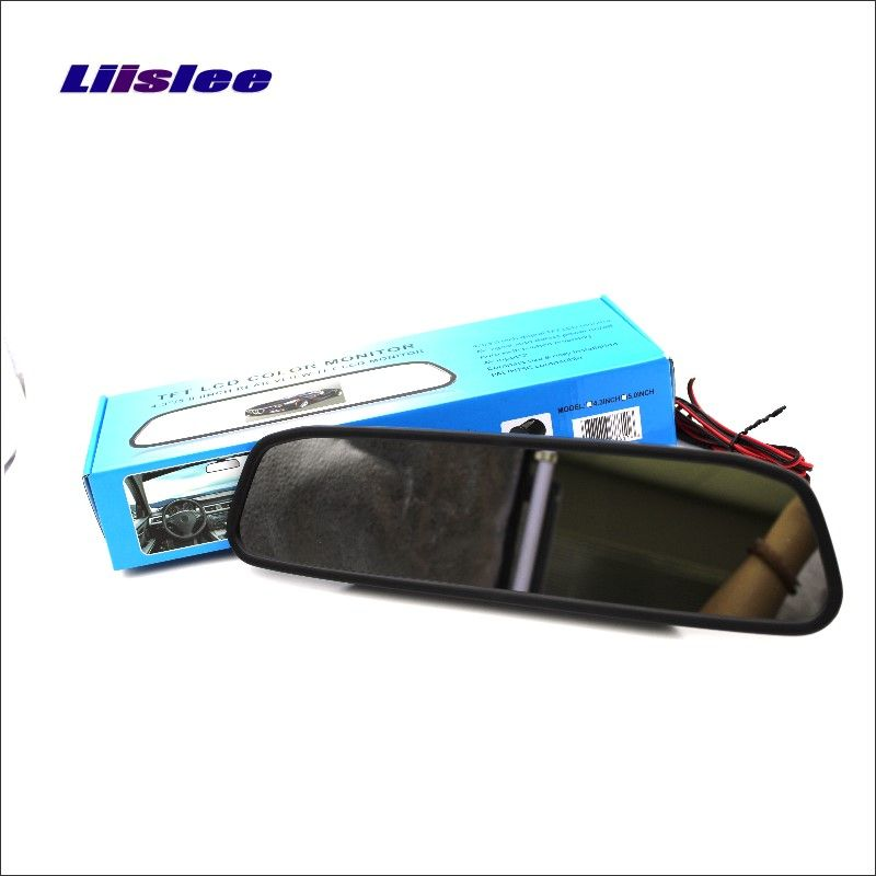 Liislee For Ford Transit Rearview Mirror Car Monitor Color Screen Display / 4.3 inch / HD TFT LCD NTSC PAL Color TV System