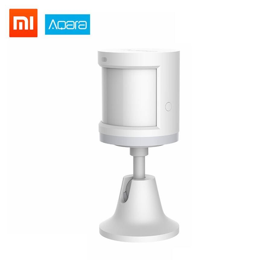 Xiao mi mi jia Aqara capteur de corps humain intensité lumineuse capteurs de mouvement ZigBee wifi sans fil pour Xiao mi smart home mi jia mi home APP