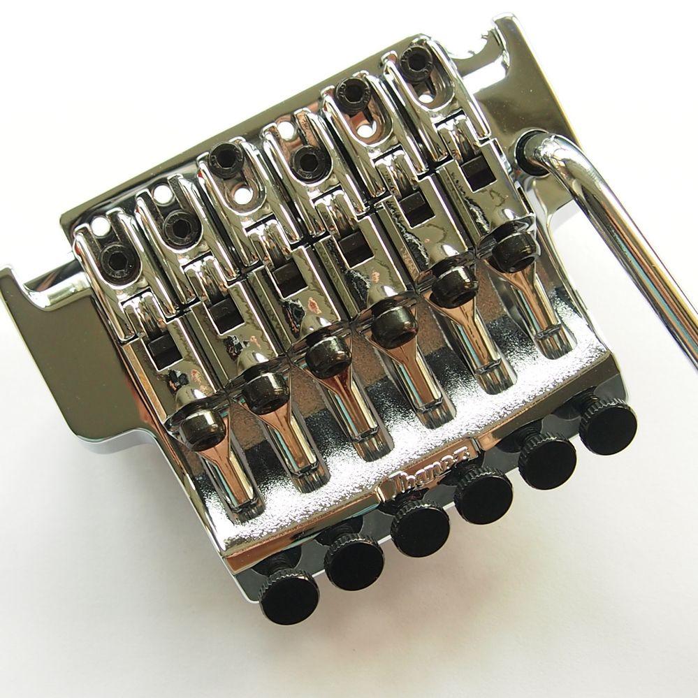 1 set Original Edge III Bridge Electric Guitar Locking Tremolo System Bridge For IBZ  Black