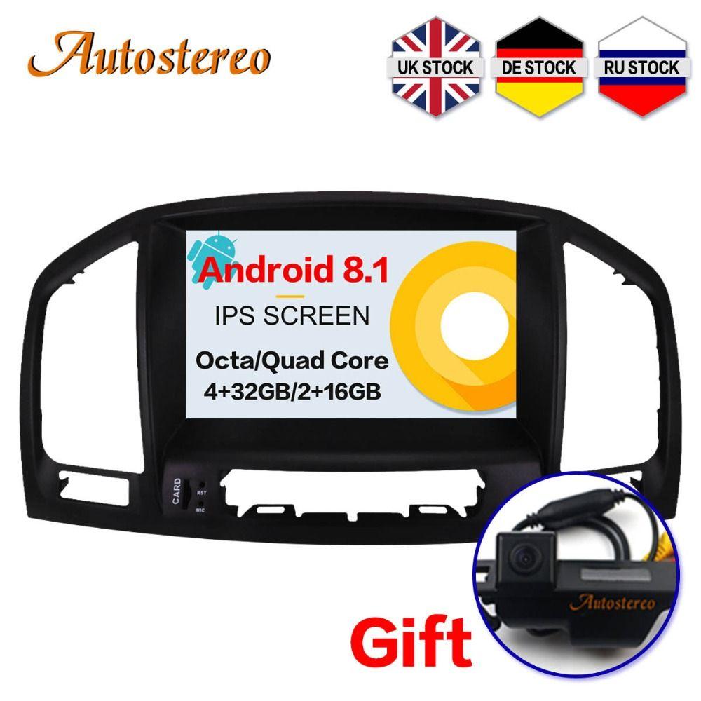 Autostereo Android 8.1 Auto DVD Player Für Opel Vauxhall Holden Insignia 2008-2013 kopf einheit GPS navigation multimedia radio band