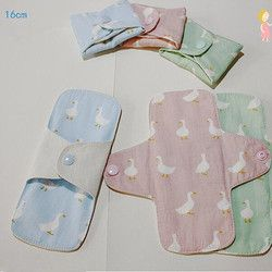 2 Pcs/lot 160mm Feminine Hygiene Pads Reusable Adult Diapers Sanitary Pad Soft Washable Panty Liner Cloth Mama