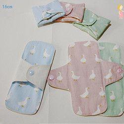 2 Pcs/lot 160mm Sanitary Pad Soft Reusable Washable Panty Liner Cloth Mama
