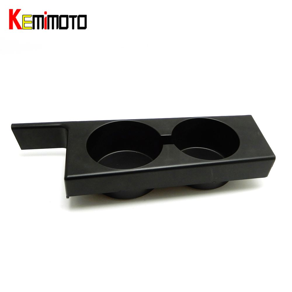 KEMiMOTO Black Front Cup Holder Car Cup Holde for BMW E39 5-Series 97-03 Plastic Black Portable Car Front Premium Cup Holder