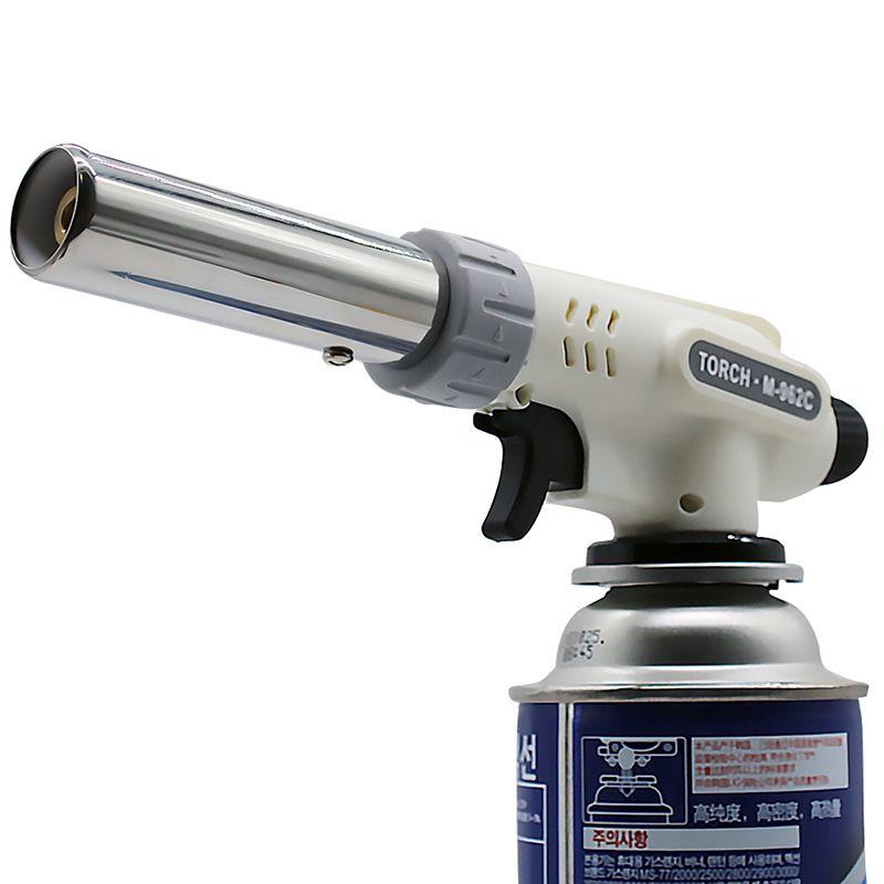 Torche à gaz pistolet à flamme cuisson à souder Butane automatique électronique brûleur à gaz briquet gaz torche de soudage brûleur à gaz flamme