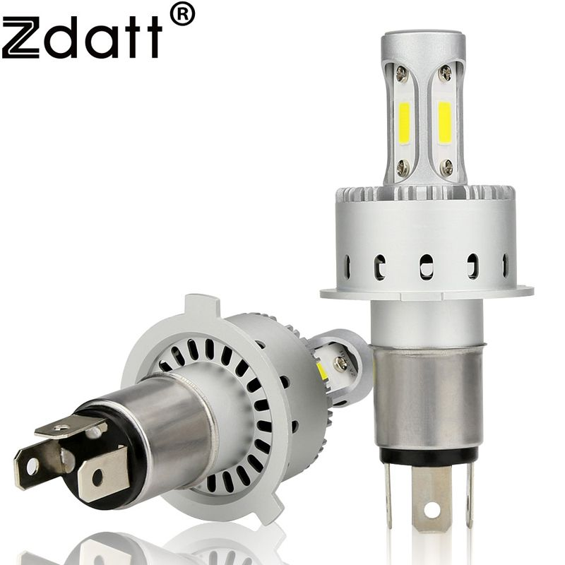 Zdatt Super H4 Led Bulb H7 H11 HB3 9005 90W 12000Lm Headlights Car Light 12V Led Auto Automobiles DRL Fog Headlamp 6500K White