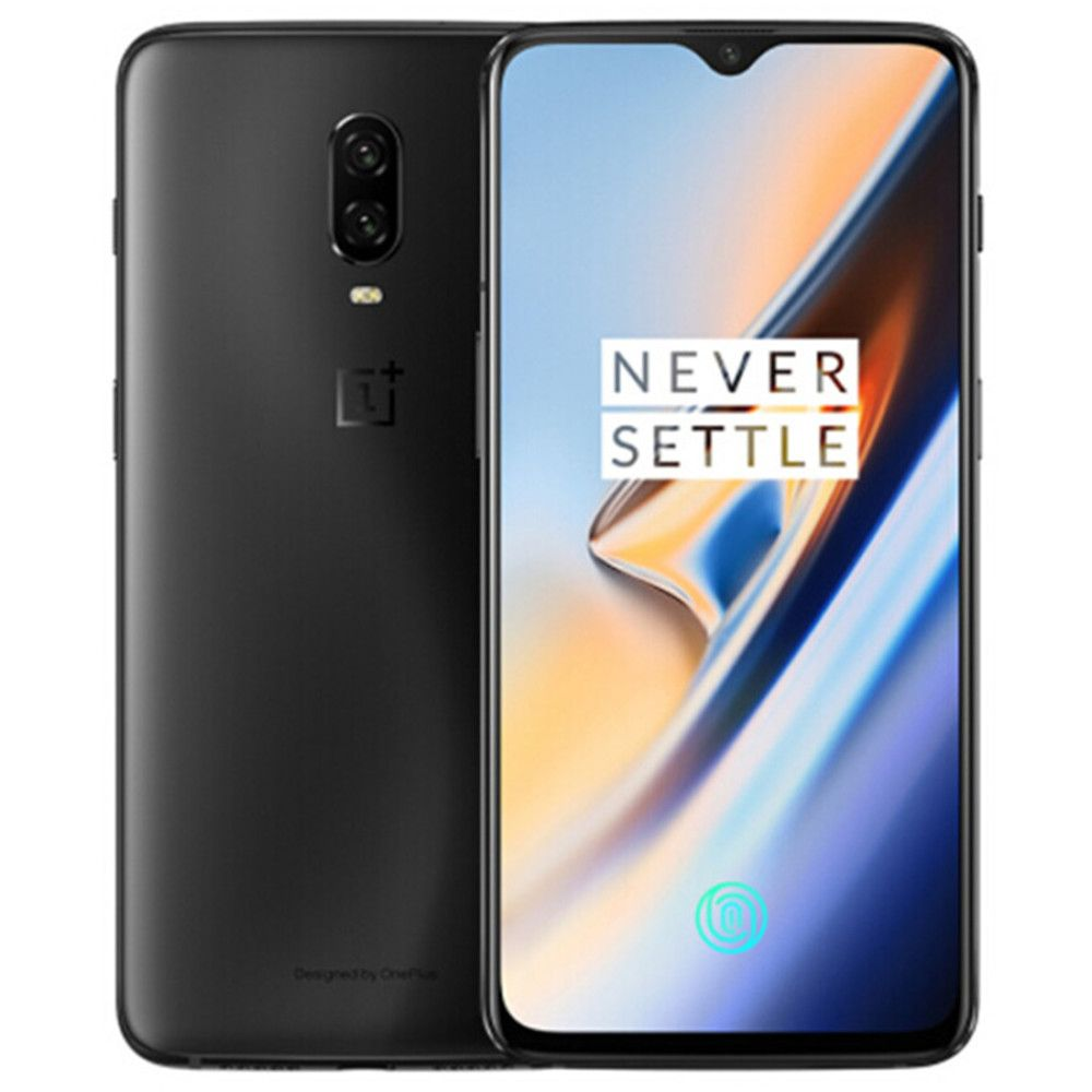 ONEPLUS 6 T A6010 8 GB RAM 128 GB ROM Snapdragon 845 2,8 GHz Octa Core 6,41 Zoll Bildschirm Dual kamera Android 9.0 4G LTE Smartphone