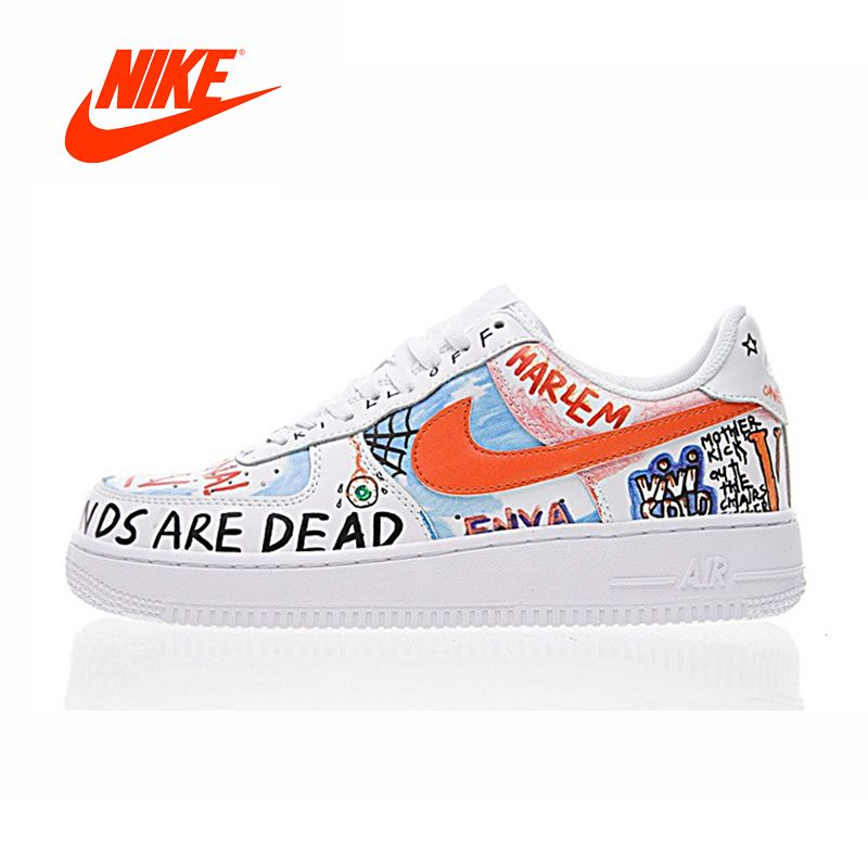Original New Arrival Authentic NIKE AIR FORCE 1 LOW Men's Skateboarding Shoes Sport Outdoor Sneakers Good Quality 923088-100