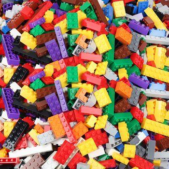 1000/500 PCS Building Blocks Bricks Set Creator City DIY Creative Toys Educational Bulk Bricks Compatible With Small Size Blocks