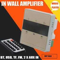 Système Audio pour la maison, système de musique, Plafond système Haut-Parleur, Bluetooth numérique stéréo amplificateur, dans le mur amplificateur avec tactile clé