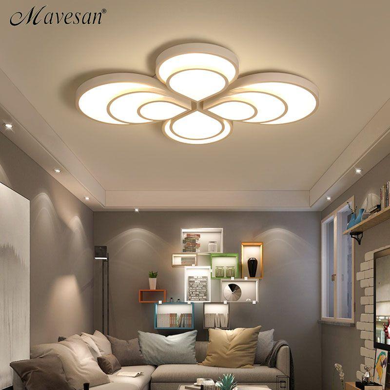 2017 Ceiling lamps indoor lighting led luminaria abajur modern led ceiling lights for bedroom lamps for home AC100-265V