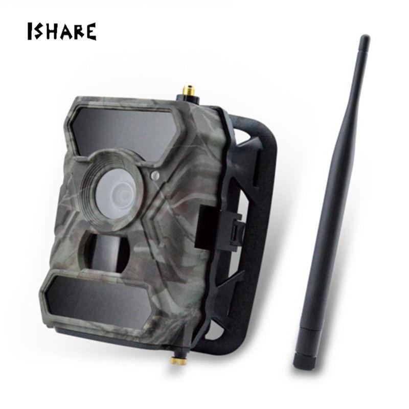 App Steuer 3G Wireless-Trail Kamera 12MP AT & T 1080 p HD Nachtsicht Wildlife Überwachungskameras