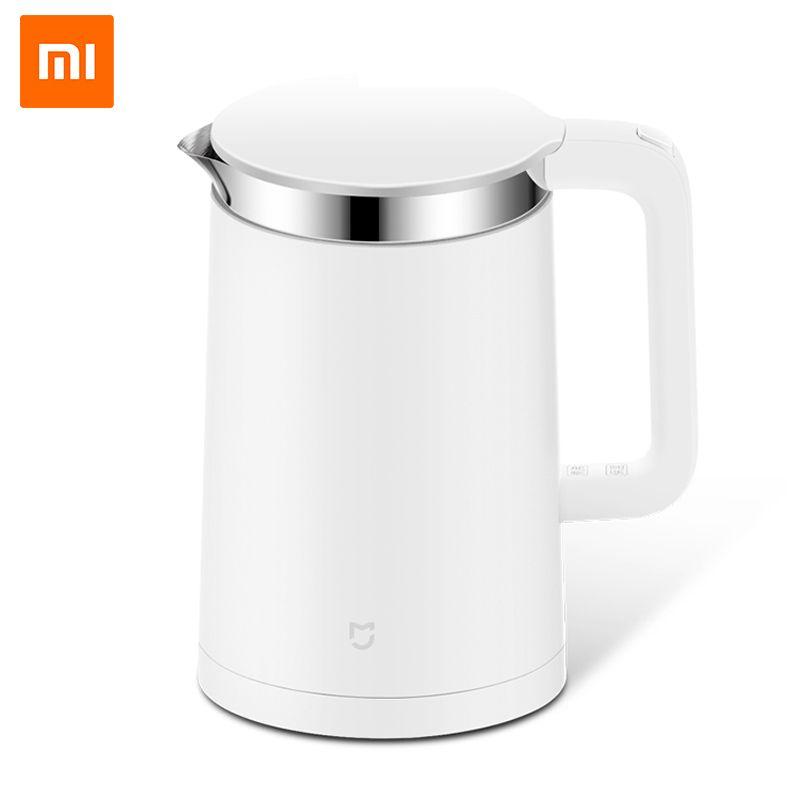 D'origine Xiaomi Mijia Intelligent Thermostatique Eau Électrique Bouilloires 1.5L 12 Heure Thermostat Contrôle de Soutien avec Mobile Téléphone APP