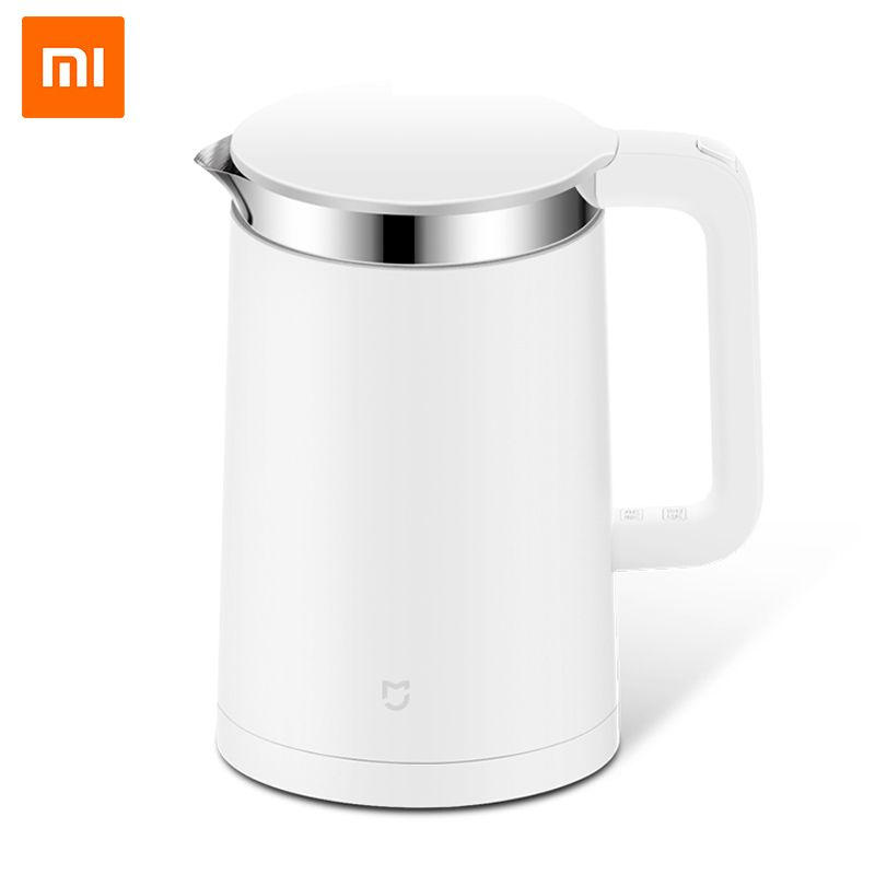 Original Xiaomi Mijia Smart Thermostatic Electric Water Kettles 1.5L 12 Hour Thermostat Support Control with <font><b>Mobile</b></font> Phone APP