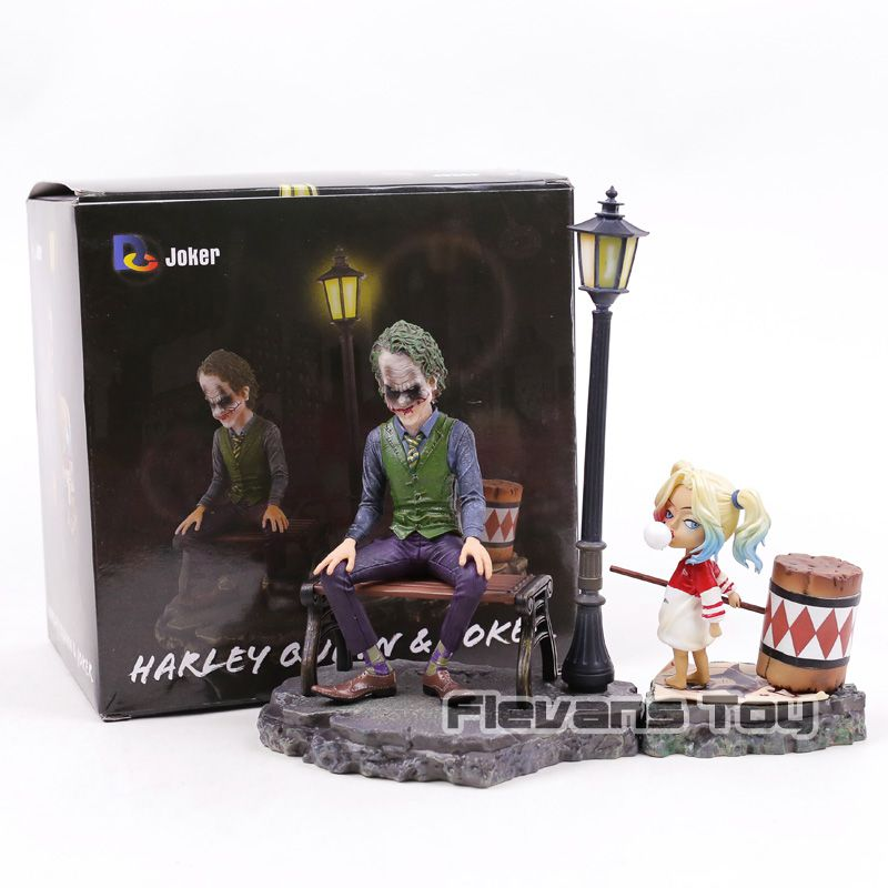 DC Comics Figurine Harley Quinn & Joker PVC Suicide Squad Joker Action Figures Decoration Figure Collection Model Toys Dolls
