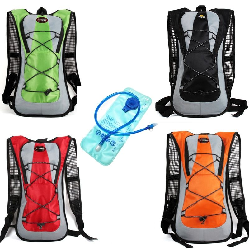 Mochila Camelback Water Bag Tank Backpack Water Bag 2L Hydration Bladder Hiking Motorcross Riding Backpack Hiking Climbing bag