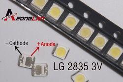 3528 2835 3V SMD LED 1W LG 1000 Pcs/lot Dingin Putih 100LM untuk Televisi LED Lampu Latar