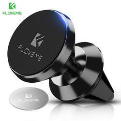 FLOVEME Magnétique Support de Téléphone De Voiture pour iPhone Samsung 360 Air montage Porte-Aimant pour Mobile Téléphone dans la Voiture GPS Universel titulaires