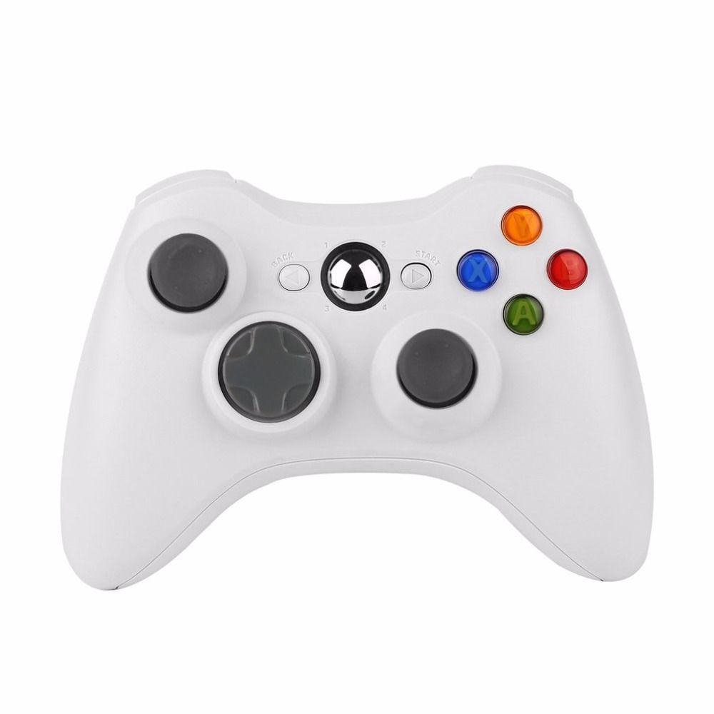 Универсальный Беспроводной шок игровой контроллер для Microsoft Xbox 360 Xbox 360 Белый Новый горячий игровая геймер контроллер