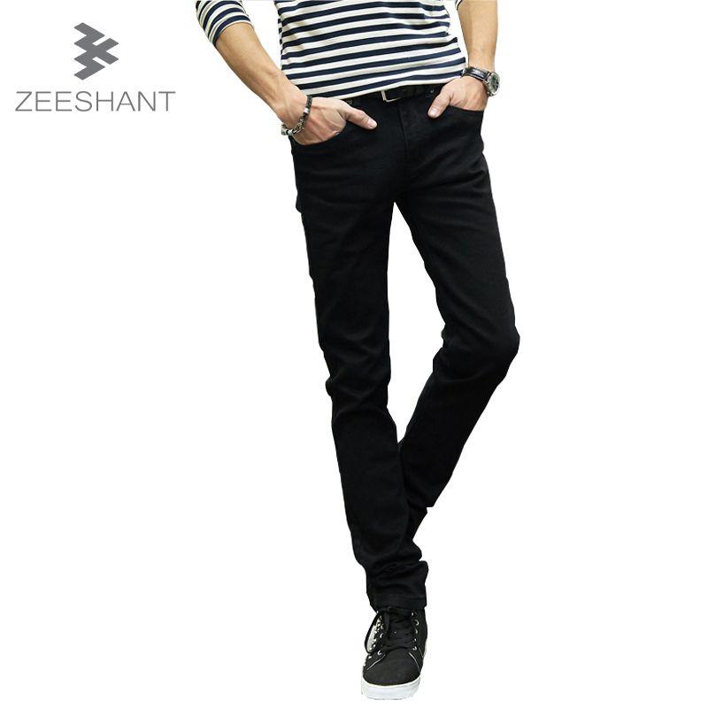 Slim Fit Skinny Jeans Biker Man Classic Brand Jean <font><b>Hombre</b></font> Mens Slim Jeans Straight Fit Denim Men Jeans Retail & Wholesale Men