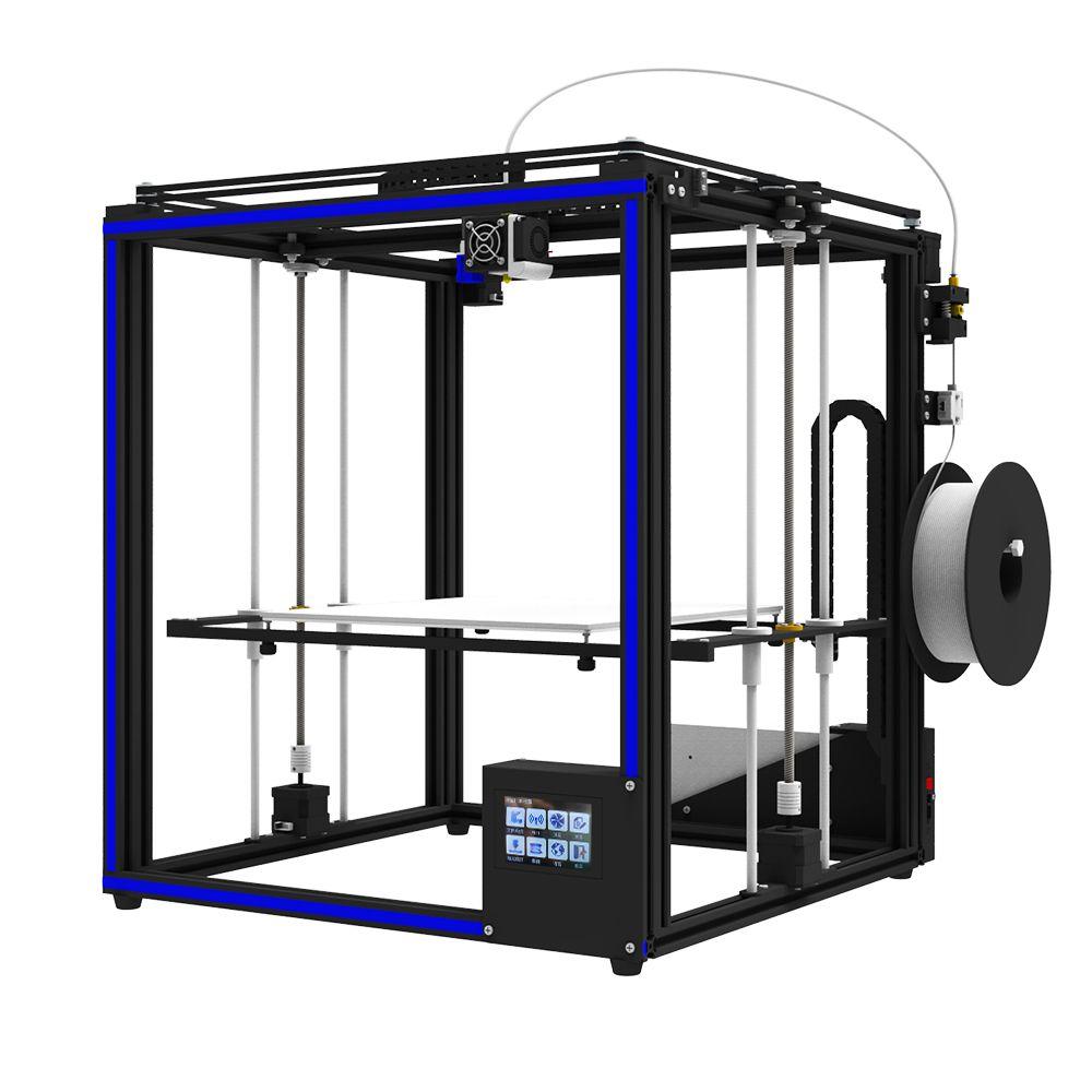 Hot sale X5SA-400 desktop 3d printer High Precision 3D machine Auto leveling Large printing size 400*400*400mm