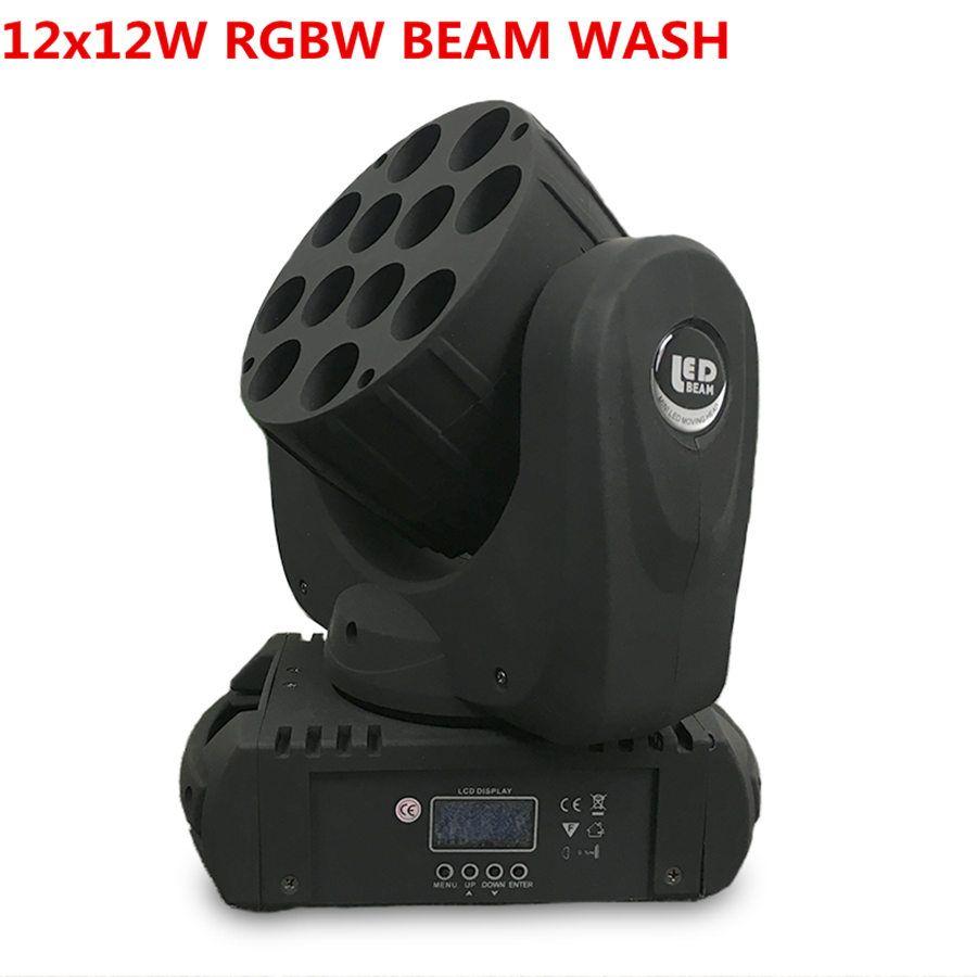 led beam 12x12W wash moving head led stage light 12x12w rgbw 4in1 beam led moving head wash light, china moving heads wash