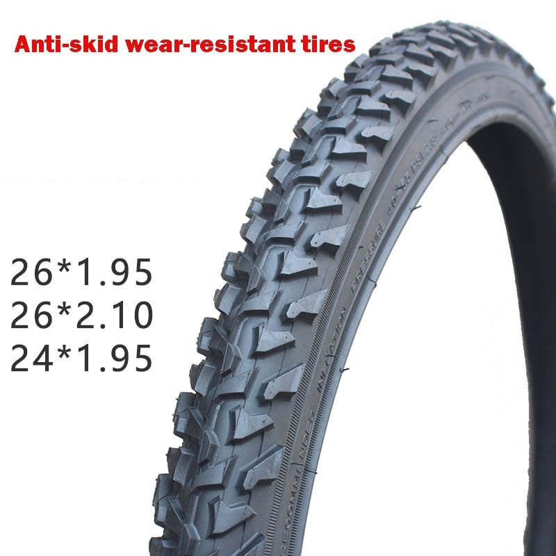 Mountain Bike Tyre 24 26*1.95 2.1 Inch Thick Bicycle Tires Mountain Bike Bicycle Tire Thornproof Oversee Ultra-light