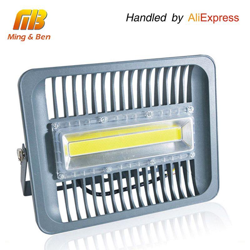 [Mingben] Светодиодный прожектор IP65 водонепроницаемый 30 Вт 50 Вт 100 Вт 220 В 230 В 110 В прожектор открытый бра сад проектор